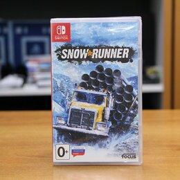 Игры для приставок и ПК - SnowRunner - Switch Новый диск, 0