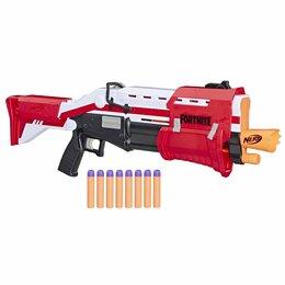 Игрушечное оружие и бластеры - Игрушка HASBRO NERF бластер НЁРФ Фортнайт Дробовик E7065, 0