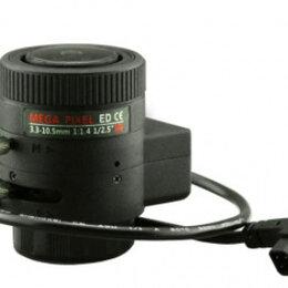 Камеры видеонаблюдения - Объектив вариофокальный ActiveCam AC-MP33105D.IR, 0