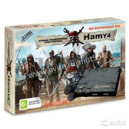 Ретро-консоли и электронные игры - Sega - Dendy (Hamy 4) 350in1 Assassin Creed Black, 0