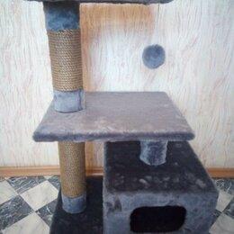 Когтеточки и комплексы  - Домики и когтеточки для кошек, новые, 0