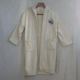 Домашняя одежда - Халат на девочку детский банный бежевый/кремовый, на рост 134/140 от Disney, 0