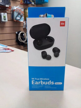 Наушники и Bluetooth-гарнитуры - Беспроводные наушники Mi Earbuts bassic 2 , 0