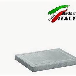 Сковороды и сотейники - Сковорода гриль Bisetti 99043 мясо овощи на каменной поверхности, 0
