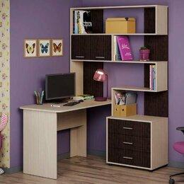 Компьютерные и письменные столы - ОС 39 (Паскаль) НМ 3 Уголок школьника к-дуб, ф-вен, 0