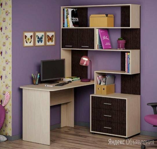 ОС 39 (Паскаль) НМ 3 Уголок школьника к-дуб, ф-вен по цене 10460₽ - Компьютерные и письменные столы, фото 0