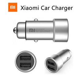 Зарядные устройства и адаптеры - Зарядное устройство от прикуривателя Xiaomi 2 USB, 0