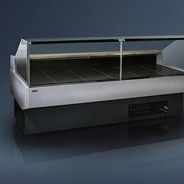 Холодильные витрины - Холодильная витрина Ариада Гамбург ВС58-2500 (встроенный холод), 0