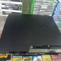 Игровые приставки - Игровая приставка PS3 slim 320Gb, 0