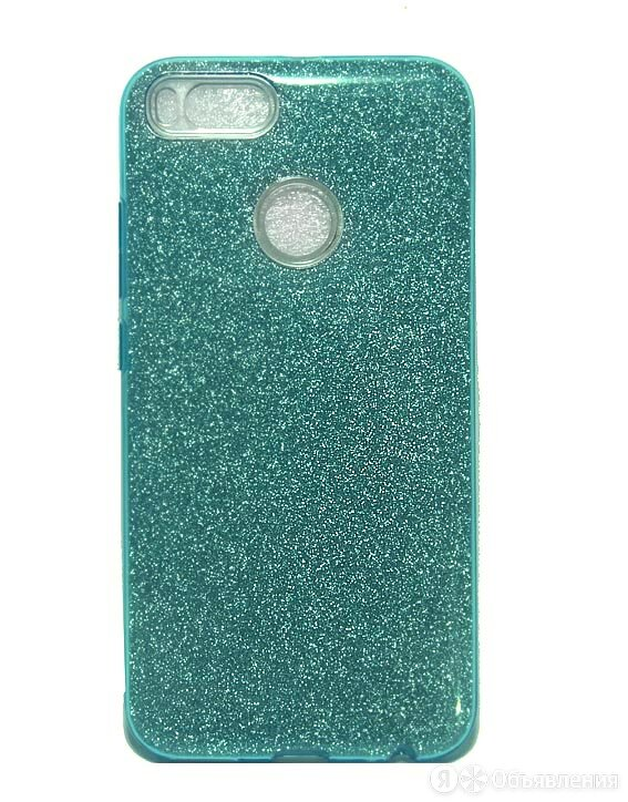 Чехол-накладка для XIAOMI Mi5X/MiA1 JZZS Shinny 3в1 TPU зеленая по цене 190₽ - Чехлы, фото 0