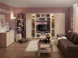 Шкафы, стенки, гарнитуры - Гостиная Sherlock Шерлок. Комплектация 1, 0