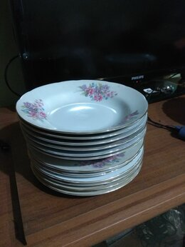 Тарелки - столовый набор тарелок на 6 персон, 0