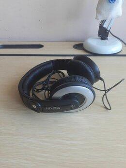 Наушники и Bluetooth-гарнитуры -  Наушники Sennheiser hd205, 0