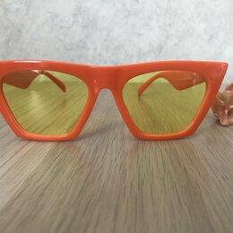 Очки и аксессуары - Солнцезащитные очки Celine (синие и оранжевые), 0