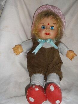 Куклы и пупсы - кукла в бриджах СССР винтаж, 0