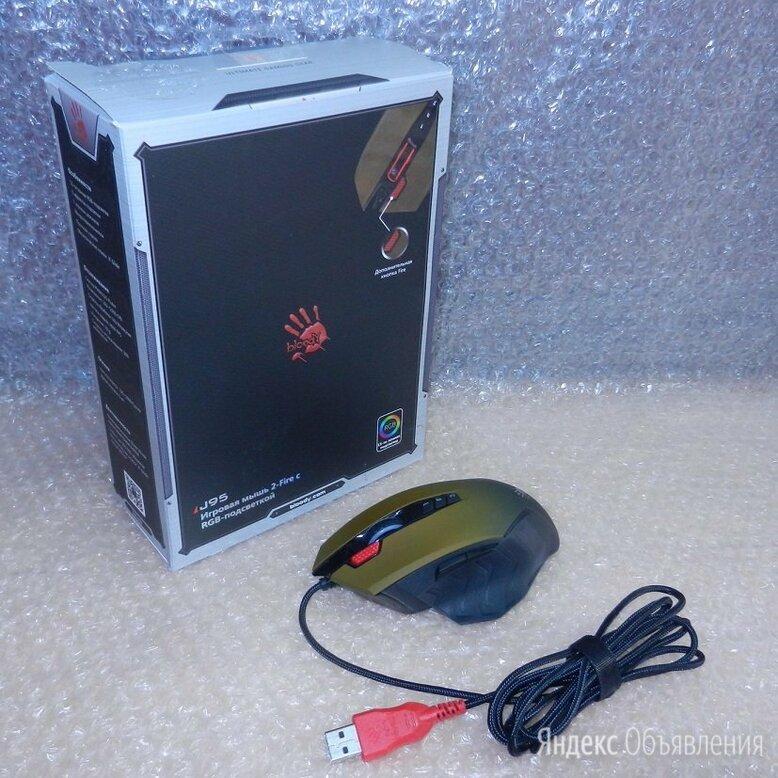 Игровая мышка A4Tech Bloody J95 RGB по цене 900₽ - Мыши, фото 0