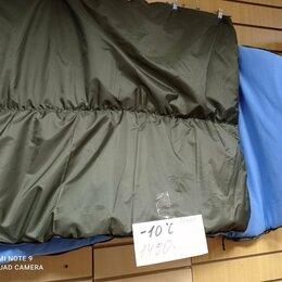Спальные мешки - мешок спальный с подголовником до -10 гр на флисе ширина 85 см, 0