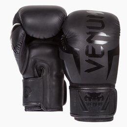 Боксерские перчатки - Боксерские перчатки Venum Elite Neo Black, 0