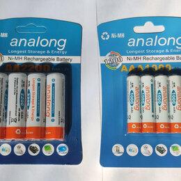 Аккумуляторные батареи - Аккумуляторы AA и AAA с низким саморазрядом, 0