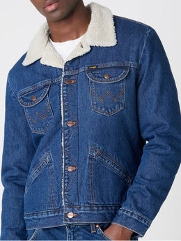 Куртки - Новая куртка Wrangler 124MJ denim sherpa jacket…, 0