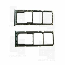 Ударные установки и инструменты - Сим лоток для Samsung A105/A205/A305/A307/A505/A750 черный, 0