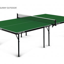 Столы - Теннисный стол Start Line Sunny Outdoor green 6014-1, 0