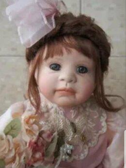 Куклы и пупсы - Фарфоровая кукла балерина Linda Valentino, 0