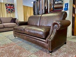 Диваны и кушетки - диван Edward кожаный, 0
