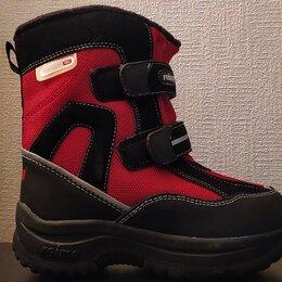 Обувь для малышей - Ботинки Reimatec осень-зима размер 27 - черно красные НОВЫЕ, 0