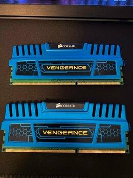 Модули памяти - Corsair Vengeance Blue 8GB Kit 2x4GB 1600MHz DDR3, 0