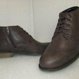 Ботинки - Ботинки утепленные из натуральной кожи, 0