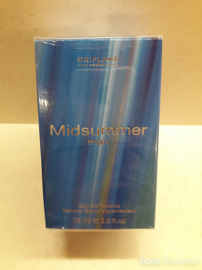 Midsummer Man Oriflame Орифлейм орифлэйм Мужская туалетная вода духи по цене 2300₽ - Парфюмерия, фото 0
