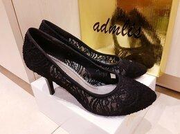 Туфли - Черные Кружевные Туфли Zenden (Размер 37), 0