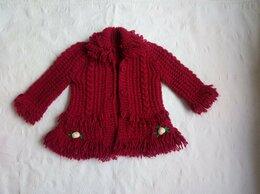 Свитеры и кардиганы - Теплая вязаная кофта на девочку с 2-4 лет, 0