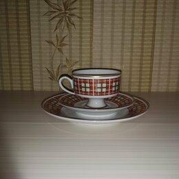 Кружки, блюдца и пары - Старинная чайная пара тройка Германия Wallendorf, 0