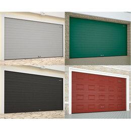 Заборы, ворота и элементы - Ворота гаражные секционные подъемные Doorhan (ДорХан), 0
