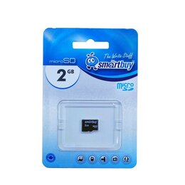 Карты памяти - 2GB SmartBuy MicroSD без адаптера, 0