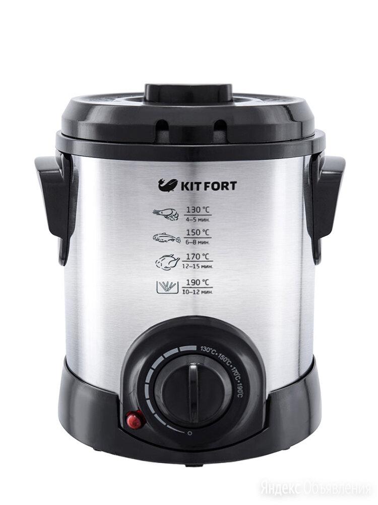 Фритюрница Kitfort KT-2009 по цене 1990₽ - Фритюрницы, фото 0