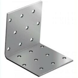 Перфорированный крепеж - Уголок крепёжный равносторонний 30*30*30, 0