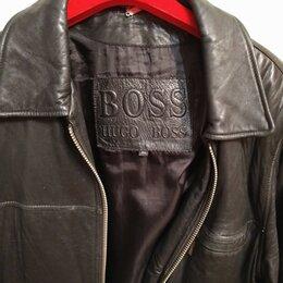 Куртки - Hugo Boss кожаная куртка , 0