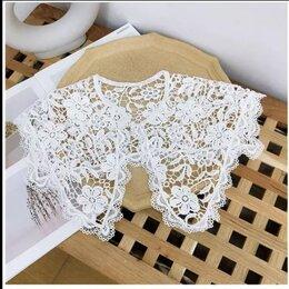 Шарфы и платки - Воротничок белый накладной кружево , 0