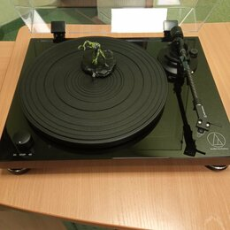 Проигрыватели виниловых дисков - Проигрыватель виниловых дисков Audio-Technica AT-LPW50PB, 0