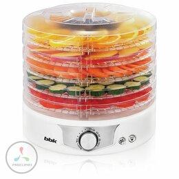 Сушилки для овощей, фруктов, грибов - Сушилка для овощей и фруктов BBK BDH301M белый, 0
