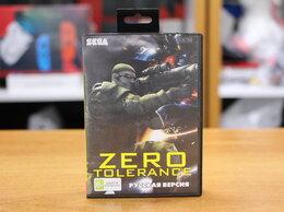 Игры для приставок и ПК - Картридж Sega Zero Tolerance, 0