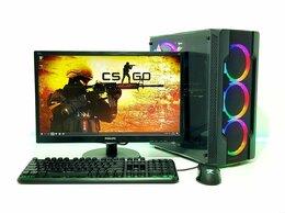 Настольные компьютеры - Игровой пк на AMD Ryzen 3 + GTX 1050 2Gb + Монитор, 0