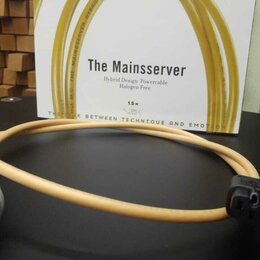 Кабели и разъемы - Кабель питания Van den Hul The MAINSSERVER HYBRID, 1.5 м, 0