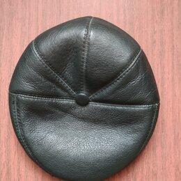 Головные уборы - Берет зимний кепи Zavelio утепленный кожаный, 0