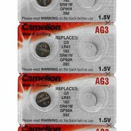 Батарейки - Батарейка Camelion AG03/392A 1шт, 0