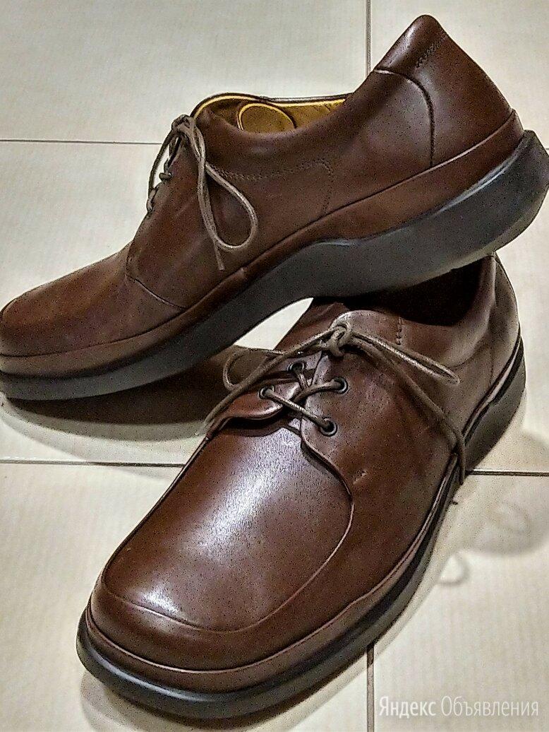 🔴 Clarks UK туфли ботинки натуральная кожа по цене 6800₽ - Туфли, фото 0