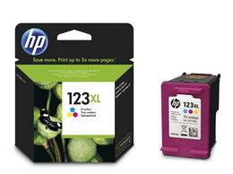 Картриджи - Картридж HP DJ2130  F6V18AE, №123XL, Tricolor, 0